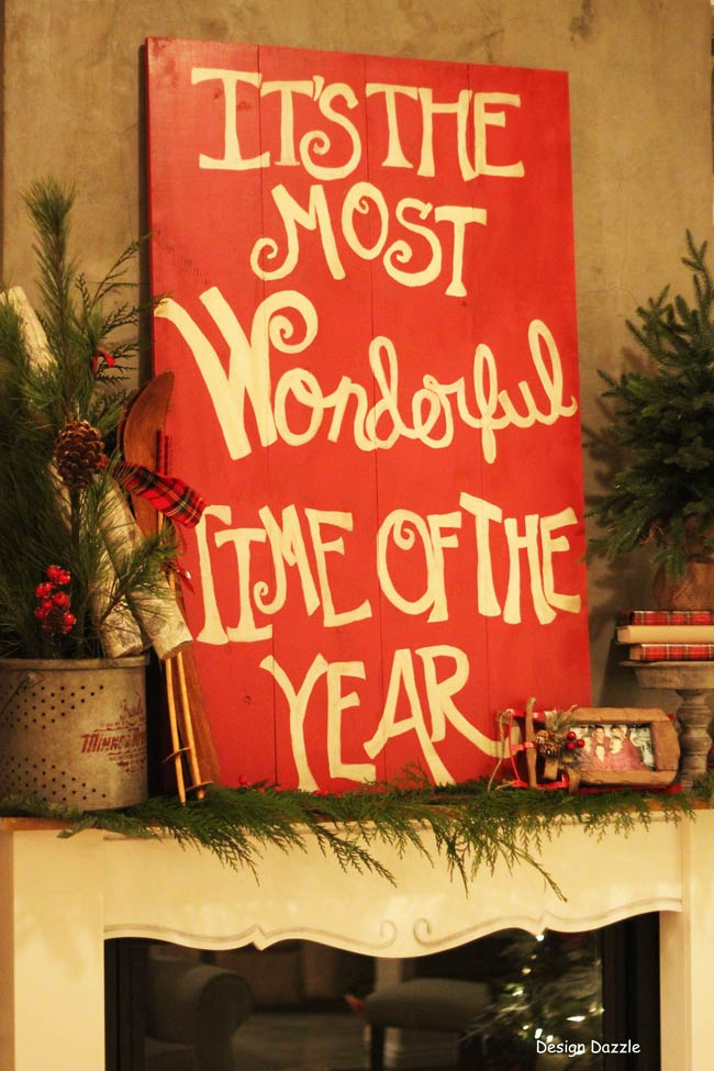 Merry Christmas: It's The Most Wonderful Time of The Year Home Tour Design Dazzle