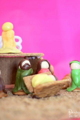 Honey Maid Graham Cracker Nativity