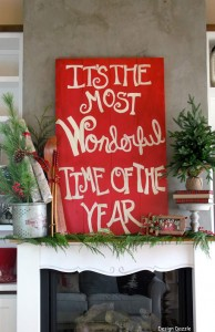 It's the most wonderful time of the year home tour! | Design Dazzle