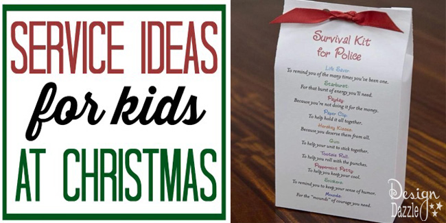 service ideas for kids at christmas fi