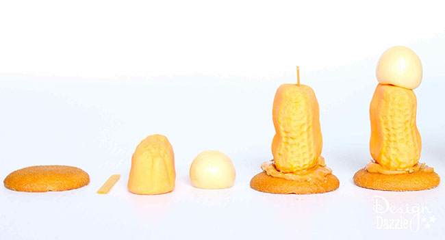 How to make nativity characters out of candy. Full tutorial on Design Dazzle.