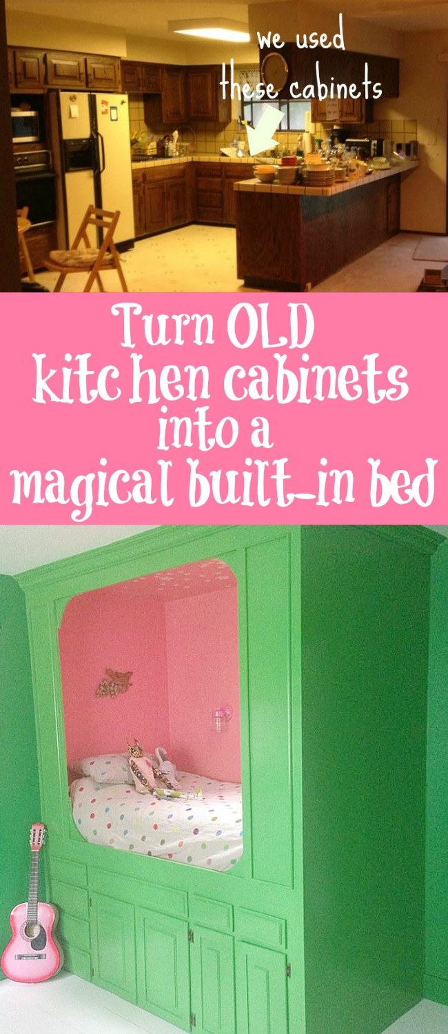 Turn Old Kitchen Cabinets Into