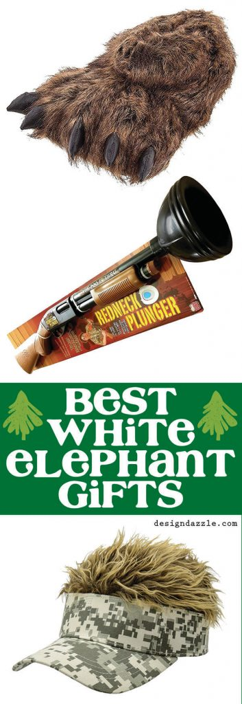 The best white elephant gifts from Design Dazzle!