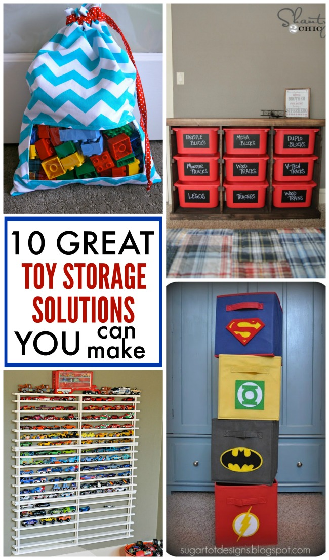10 great toy storage solutions you can make yourself to keep those toys picked up