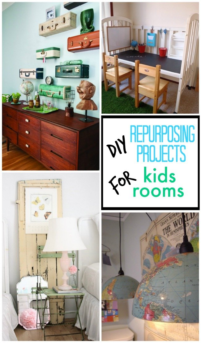 diy repurposing projects for kids rooms design dazzle