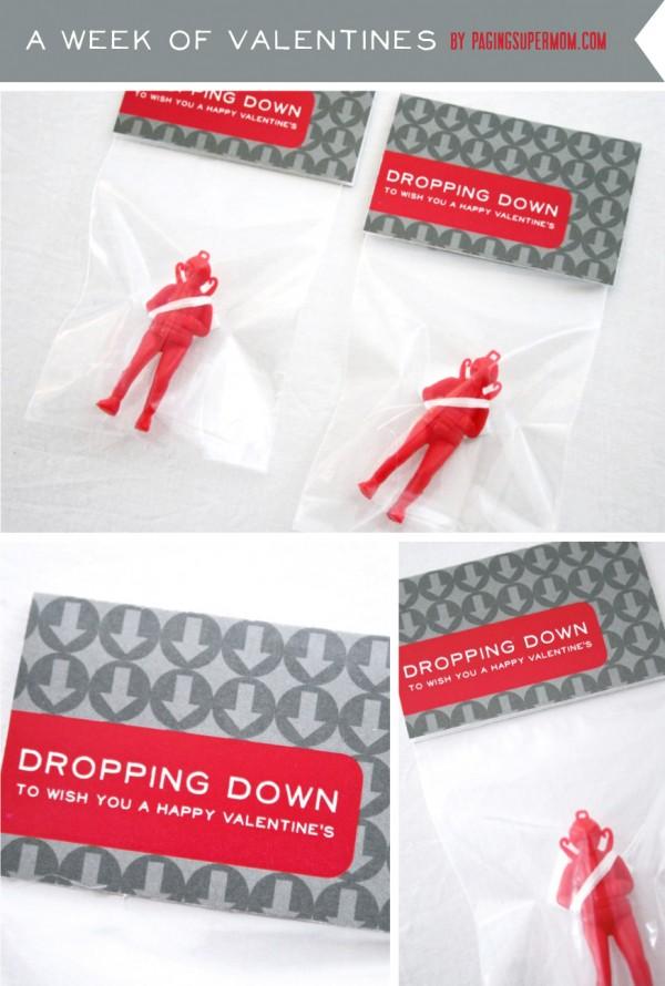 Clever non candy Valentine treats on Design Dazzle!