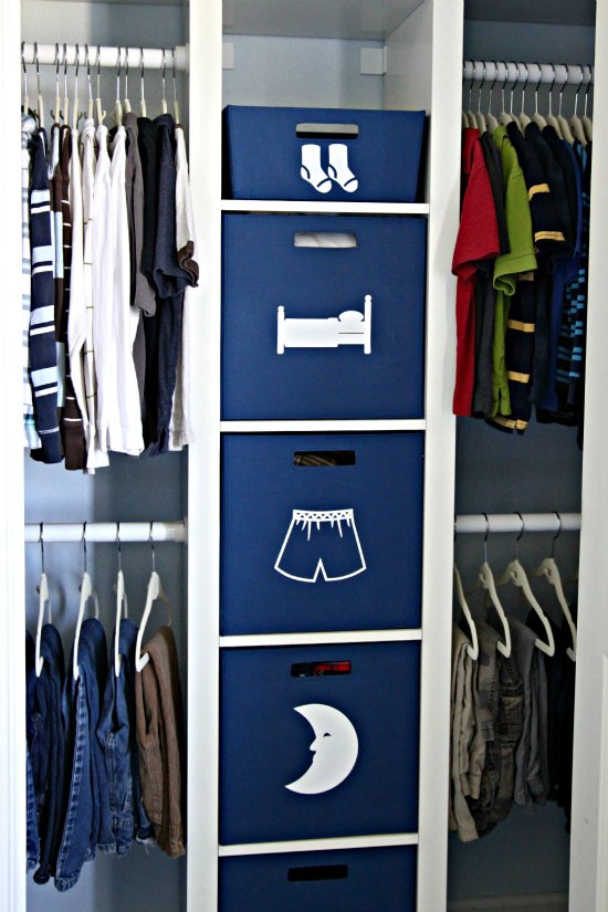 Kids Closet Organization Ideas Part - 24: Use Big Labels To Help Your Kids Organize Their Own Clothes. Find More  Inspiration On