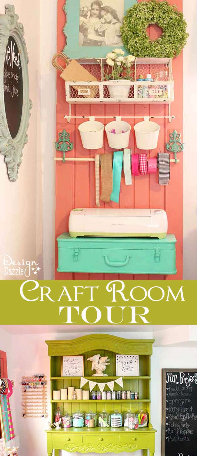 A peek into my craft room design dazzle bloglovin for Design a craft room