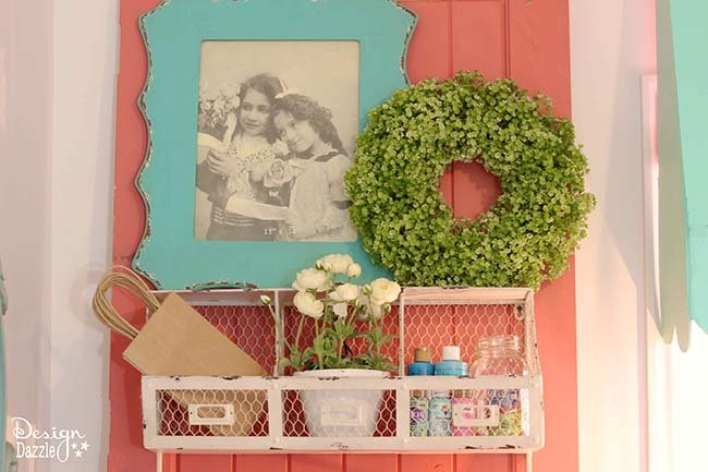 Take a peek into my craft room! This is where all the magic happens. See the full tour on Design Dazzle!