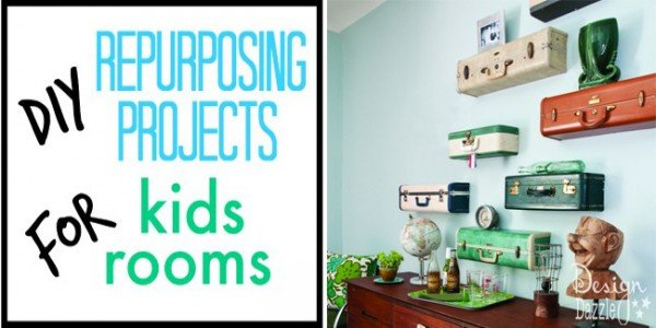 diy repurposing projects for kids rooms
