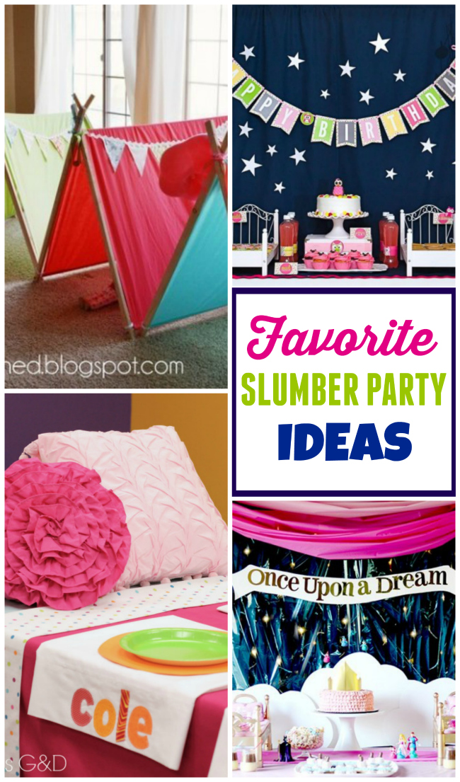 Slumber Party Ideas | Design Dazzle | Bloglovin'