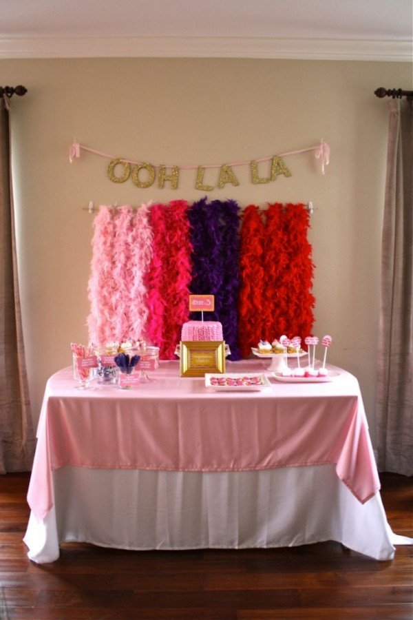 Party backdrops tablescapes the party fetti blog for Party backdrop ideas