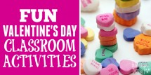 fun valentines day classroom activities