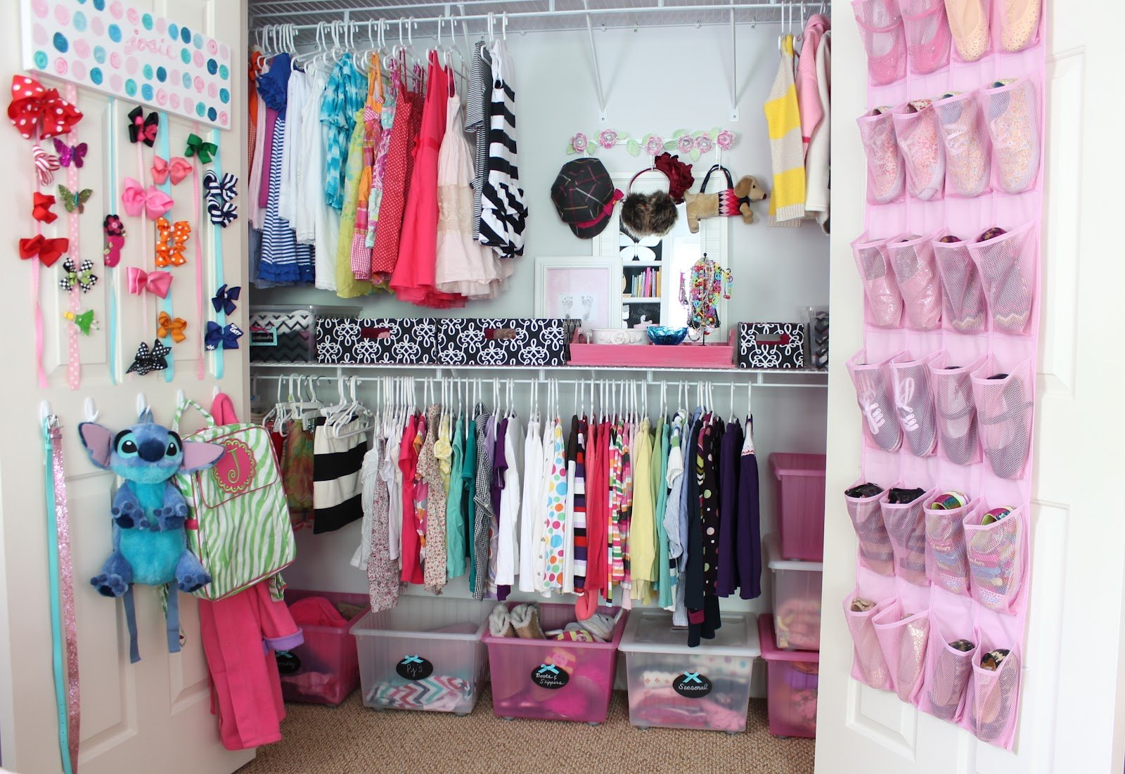 made organizing ideas help closet fun and organized kids