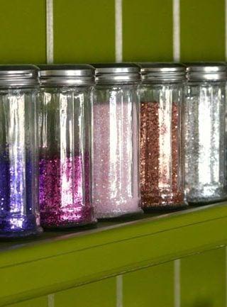 unique storage containers for the craft room | Design Dazzle