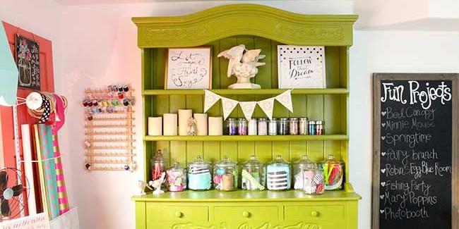 A peek into my craft room! Design Dazzle