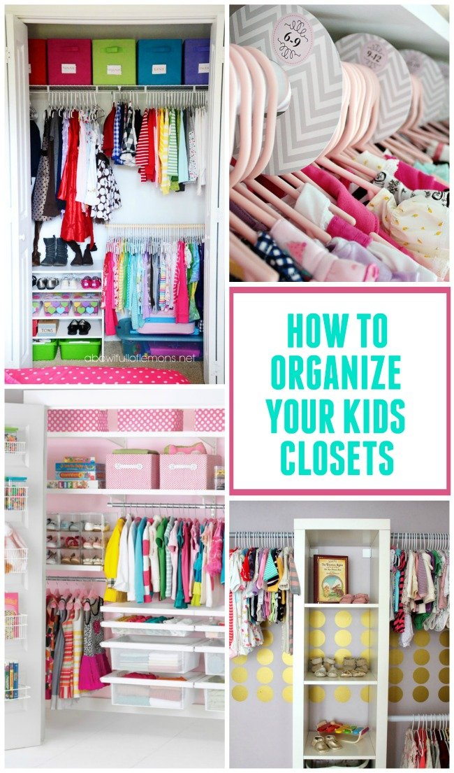 Kids closet organization ideas design dazzle bloglovin for Organizing ideas for closets