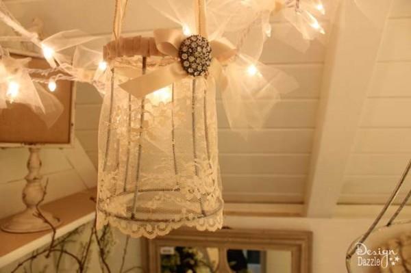 lace shade DIY - Design Dazzle
