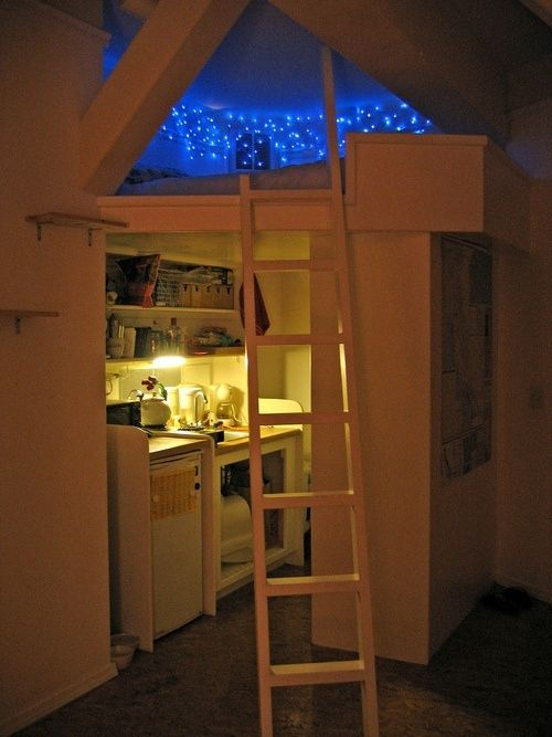 Making magic in kids rooms with fairy lights design dazzle for How to make a loft room