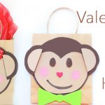 Monkey Valentine Card Holder