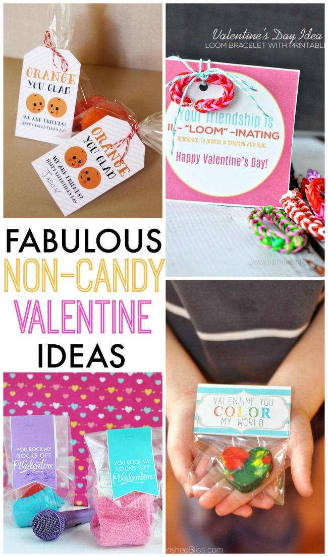 Fabulous non-candy Valentine's Day ideas!