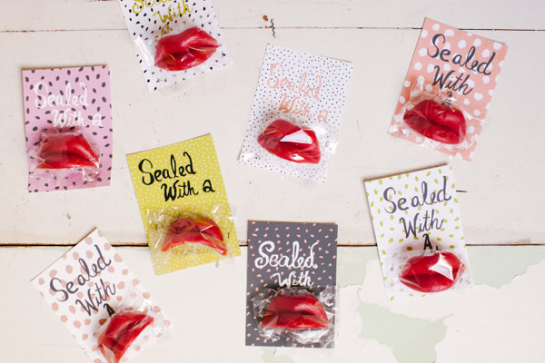 Find fun non candy Valentine ideas on Design Dazzle!