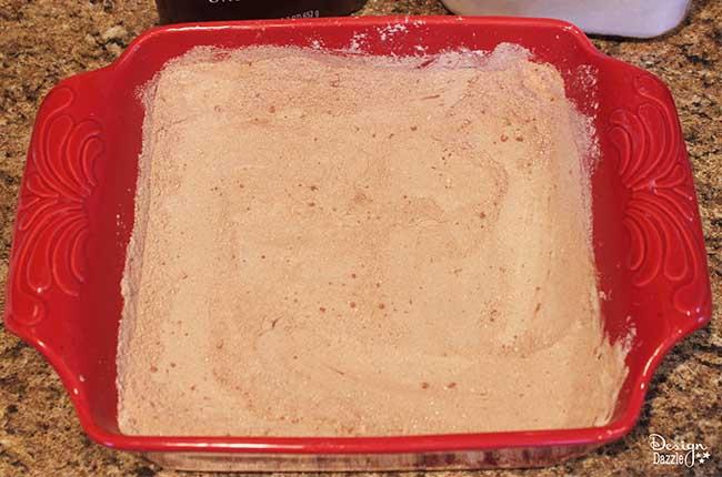 Gluten Free Crazy Cake Recipe by Design Dazzle.