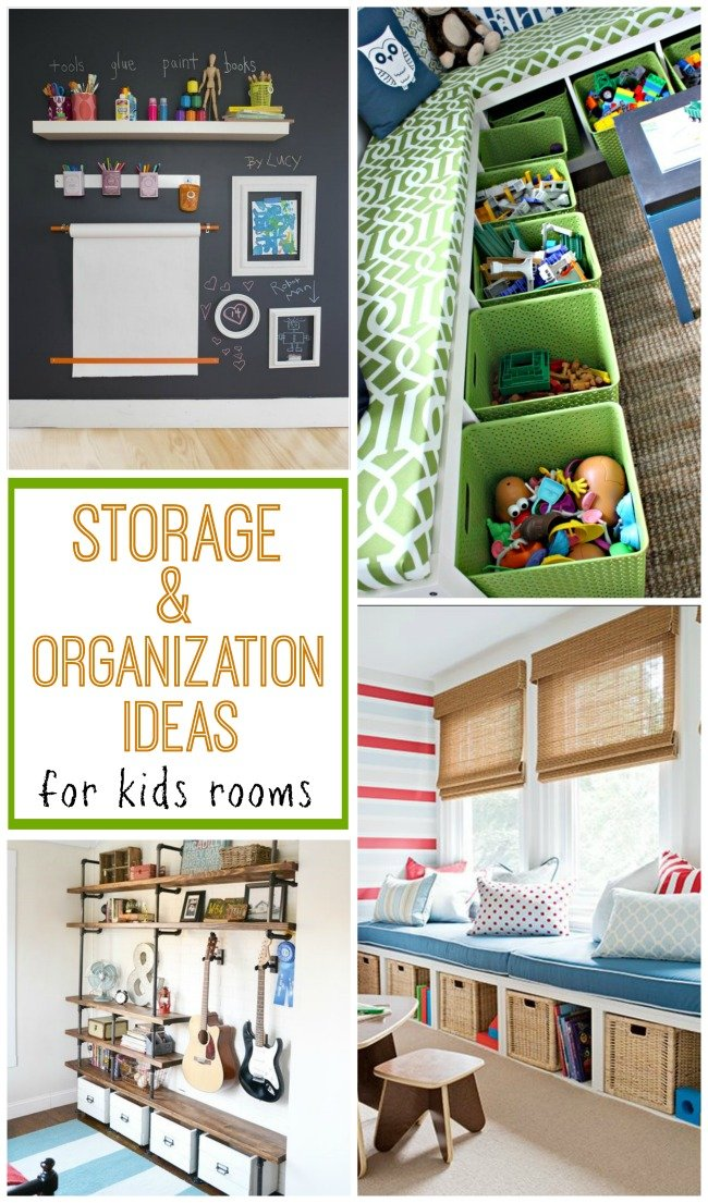 Storage organization for kids rooms design dazzle for Storage for kids rooms