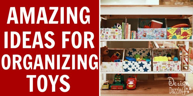 10 Amazing Ideas For Toy Organization!