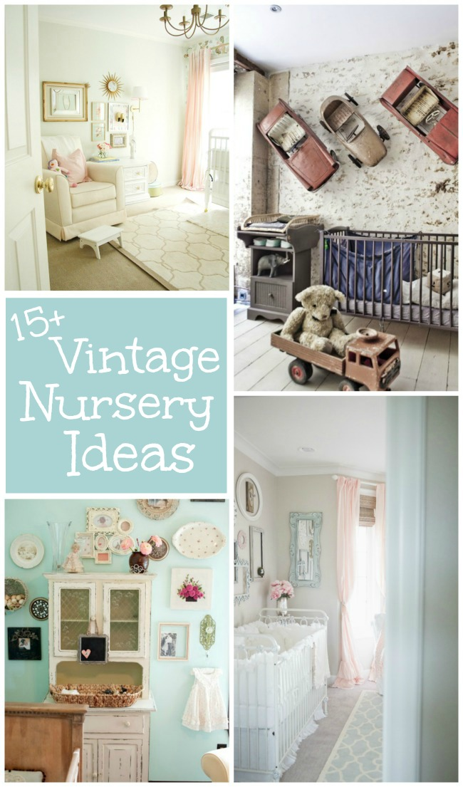 15 Vintage Nursery Ideas Design Dazzle