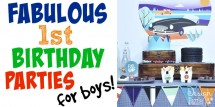1st birthday parties for boys