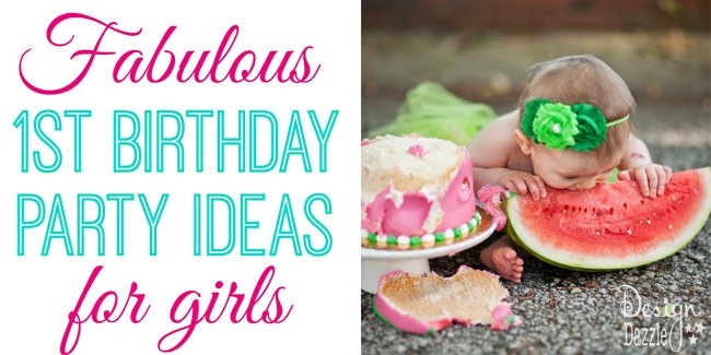 1st birthday parties for girls