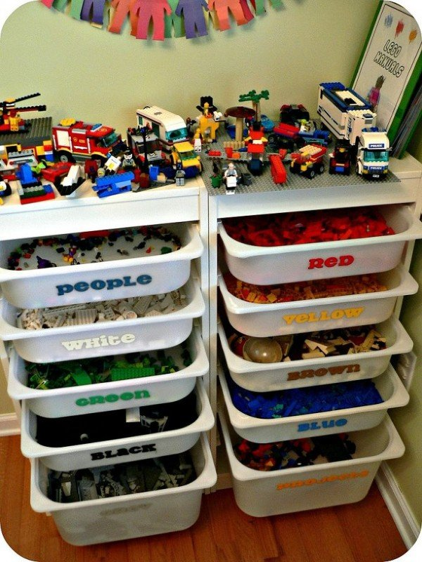 Incroyable Look At This Lego Storage   Itu0027s Beautiful! What Awesome Toy Organization!