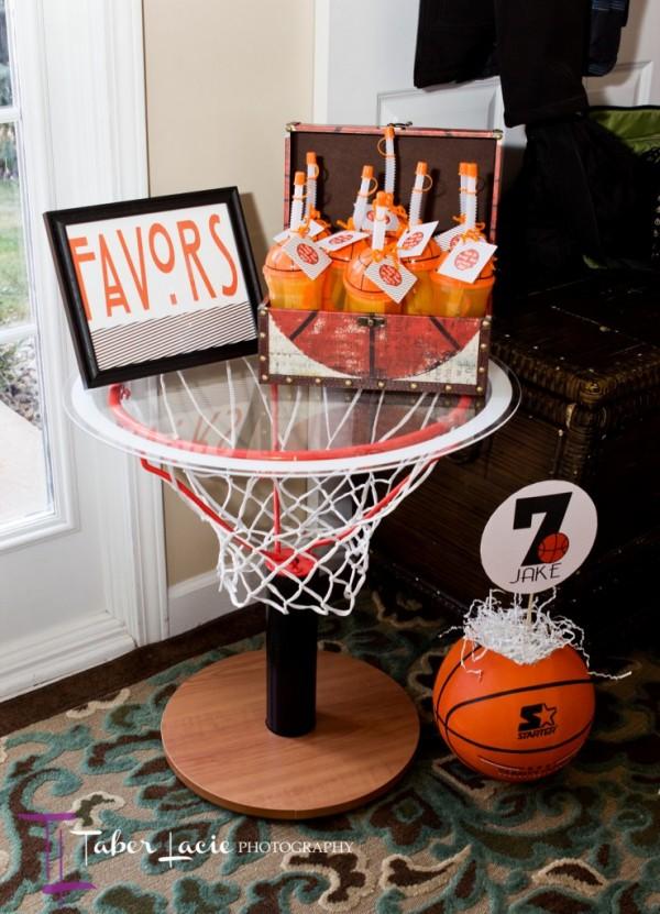 basketball display table