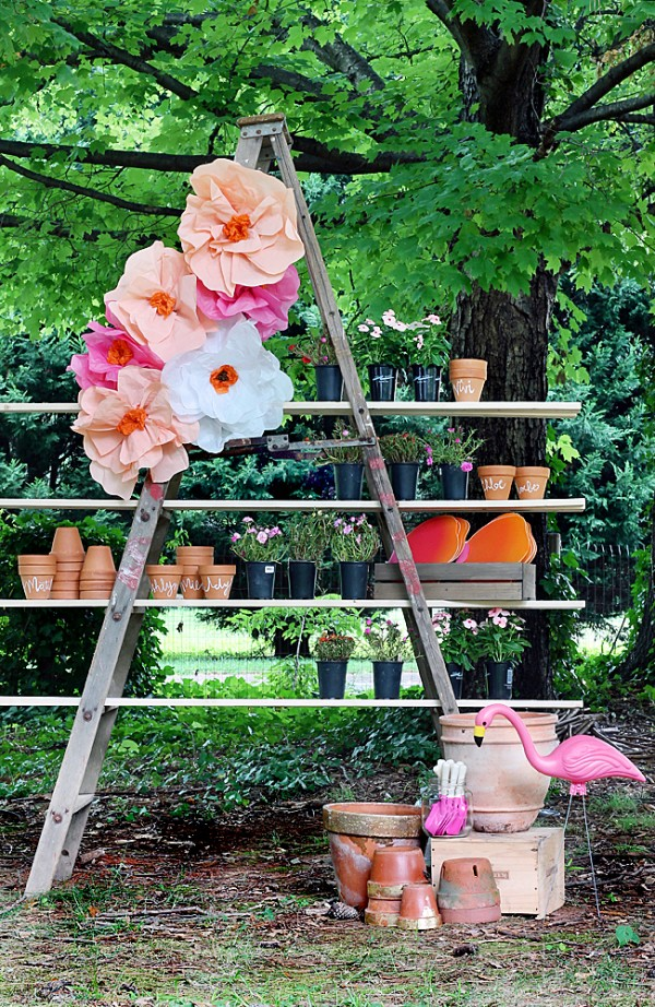 Planning your own garden party for spring design dazzle for Garden party flower designs to color