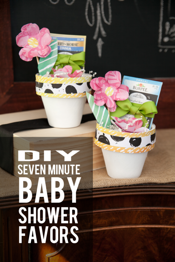 Darling seed packet baby shower favors you can make in 7 minutes!