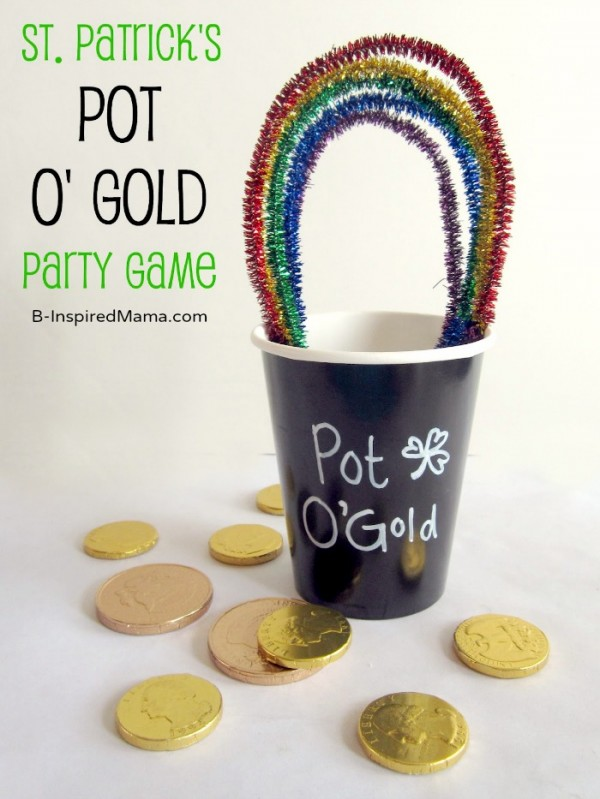 St. Patrick's Day classroom activities - Pot of Gold Game