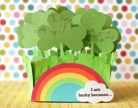 Shamrock Garden Craft