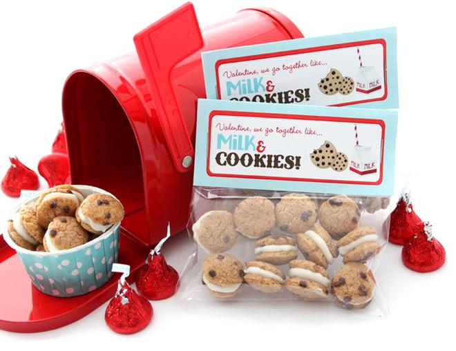 Valentine Cookies Mailbox