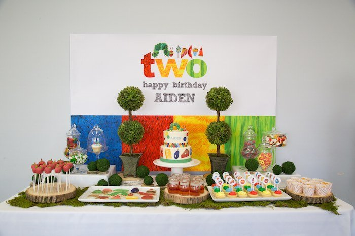 Awesome 1st birthday party idea! Love this book, too!