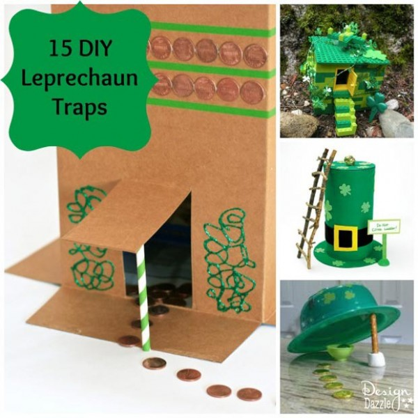 15 DIY Leprechaun Trap Ideas