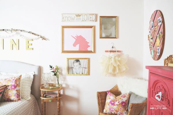 Vintage Mod Girls Room!