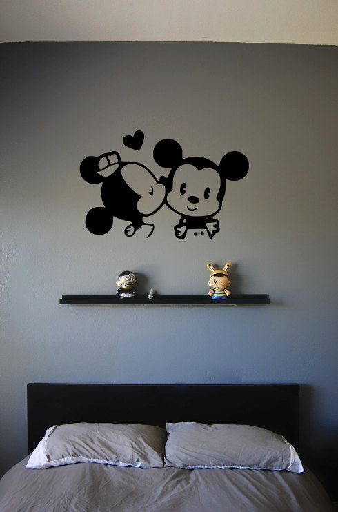Sweet and Simple Mickey Mouse Bedroom