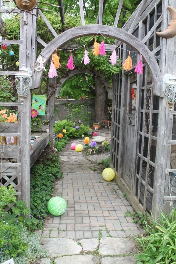 fairy garden back yard