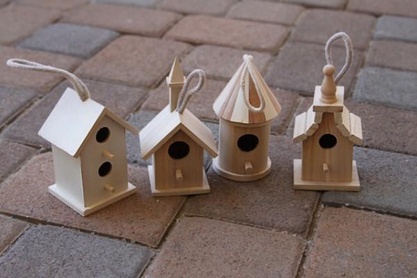 fairy garden bird houses