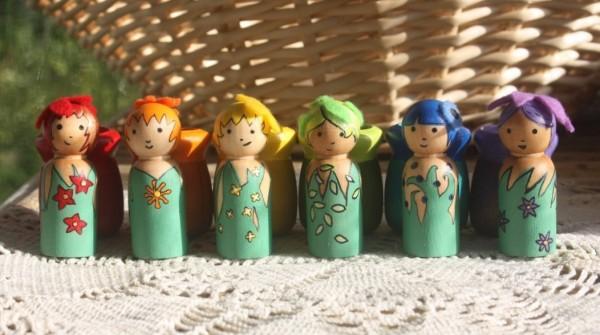 fairy garden flower pot girls