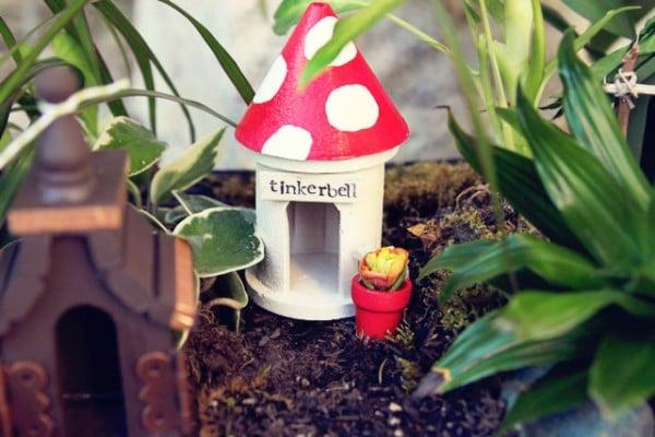 fairy garden tinker bell