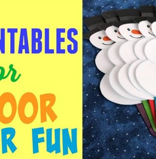 Indoor Winter Fun Printables