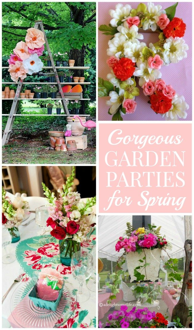 Planning Your Own Garden Party For Spring Design Dazzle