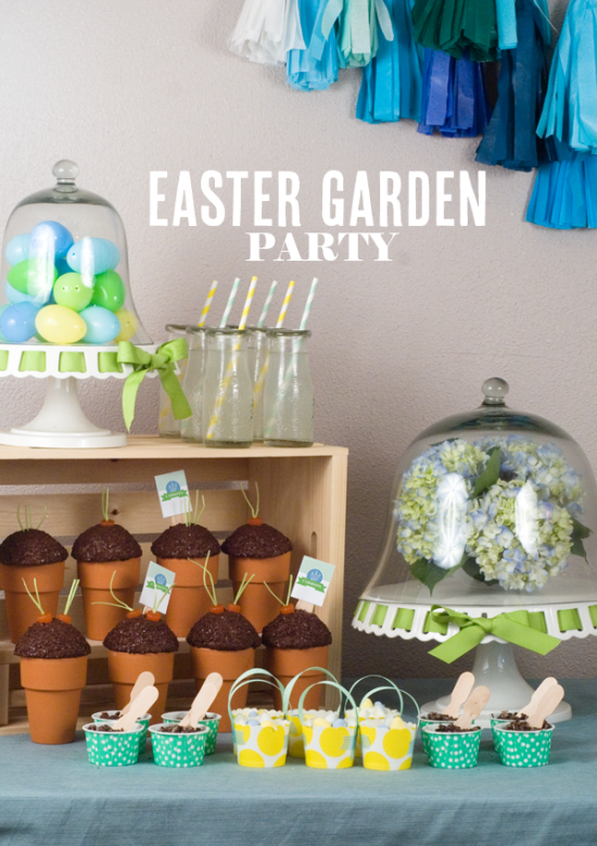 Planning Your Own Garden Party for Spring! - Design Dazzle